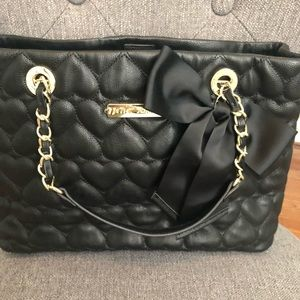 Betsy Johnson Large quilted tote